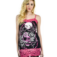 Owl Camille Tunic Tank Top