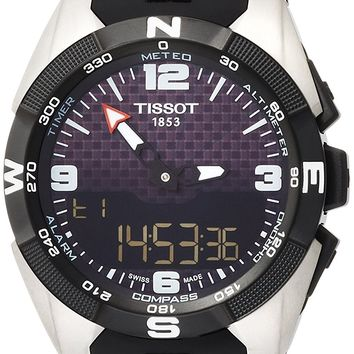 Tissot T-Touch Expert Solar NBA Speacial Edition Black Dial Mens Watch T0914204720701