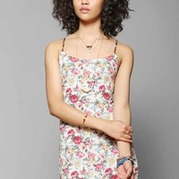 Urban Renewal Open-Back Slip Dress- Lights L