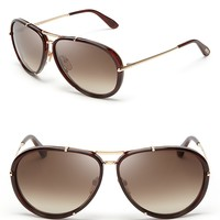 Tom Ford Cyrille Aviator Sunglasses | Bloomingdale's