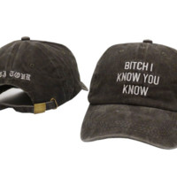 Fashion Sports Unisex Rihanna anti tour hat Baseball Golf Cap