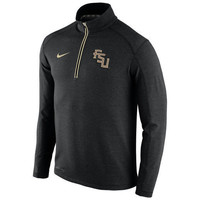 NCAA Florida State Seminoles Men's Nike Maroon Therma Fit Fleece Pull Over