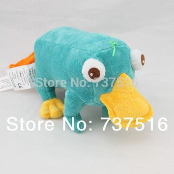"Stuffed Animals & Plush Phineas & Ferb Perry The Platypus Stuffed Plush 11"" Doll Toy new"