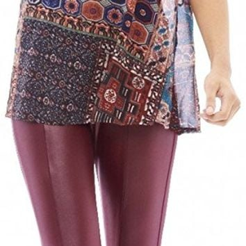 AX Paris Aztec Printed Split Back Printed Top(Multicolored, Size:6): Amazon.ca: Clothing & Accessories