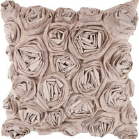 Rustic Romance Bed of Flowers Decorative Pillow - Home Decor | Surya