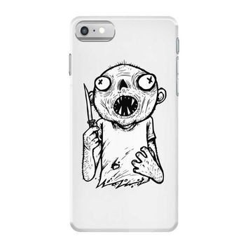zombie knife iPhone 7 Case