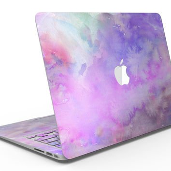 Washed Purple Absorbed Watercolor Texture - MacBook Air Skin Kit