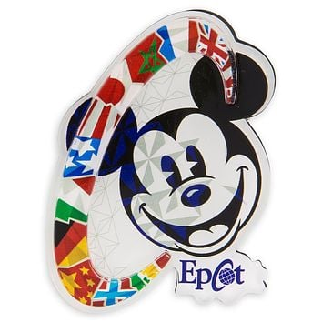 Disney Parks Mickey Mouse Epcot Magnet New