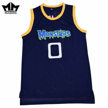 Throwback #0 Monstars Jersey from Space Jam