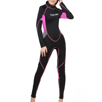 M007 One-piece Surfing Diving Suit Wetsuit     XS