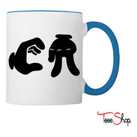 California Hand Sign Coffee & Tea Mug