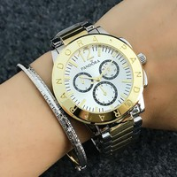 Pandora Woman Men Fashion Quartz Movement Wristwatch Watch