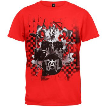 Looney Tunes - Taz Drums Youth T-Shirt