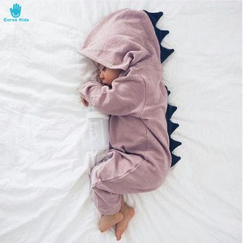 Dinosaur Hooded Romper