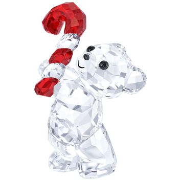 Swarovski Crystal Christmas Figurine KRIS BEAR CHRISTMAS 2016 #5222231