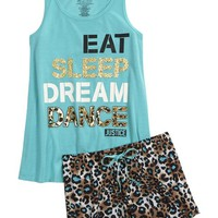 CHEETAH DANCE PAJAMA SET | GIRLS SLEEPOVER SHOP NOW TRENDING | SHOP JUSTICE