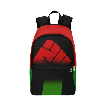 Raised Fist Fabric Backpack for Adult