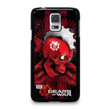 GEARS OF WAR SKULL Samsung Galaxy S5 Case Cover