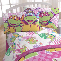 Ninja Turtles Full Sheets I Love TMNT Shelltastic Bedding