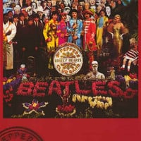 The Beatles Sgt Peppers Album Cover Poster 24x36