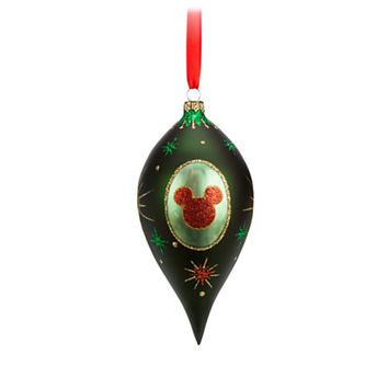 Mickey Mouse Holiday Teardrop Ornament