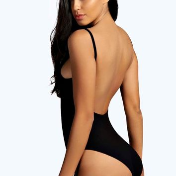 Maya Extreme Scoop Back Body | Boohoo