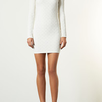 Texture Mini Bodycon Dress - Going Out Dresses - Dresses - Clothing - Topshop