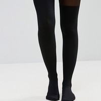 Hunkemoller 50 Denier Overknee Sock Tights at asos.com