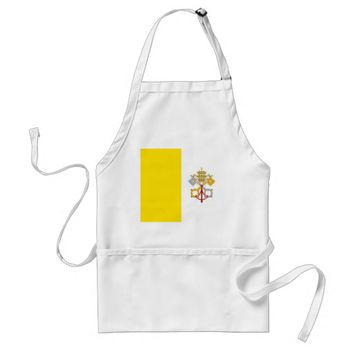 Apron with Flag of Vatican City