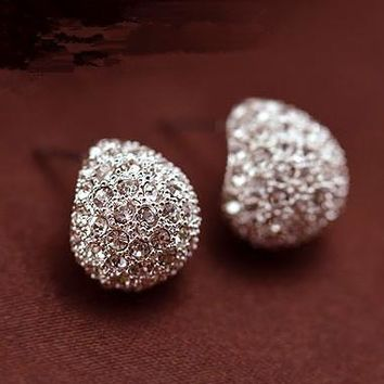 Vintage Jewelry Earrings for Women Plated Gold Earrings for Women Fashion Jewelry