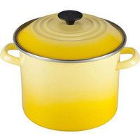 Le Creuset Soleil 8-qt. Enamel on Steel Stockpot by Le Creuset from Cooking.com | BHG.com Shop