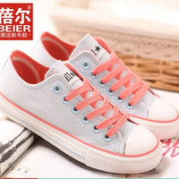 Free shipping  summer high quality  low canvas shoes breathable  flat-bottomed single women's casual shoes