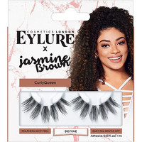 X Jasmine Brown Curly Queen Lashes | Ulta Beauty