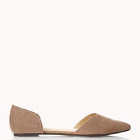 Sleek Pointed Toe Flats
