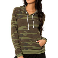 The Athletics Hoodie in Camo