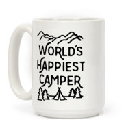 WORLD'S HAPPIEST CAMPER