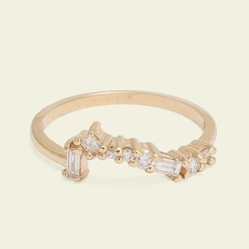 Ethically Sourced Diamond Cluster Band | Erica Weiner