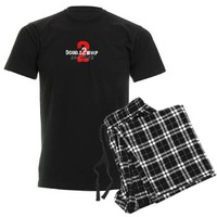 DoubleWhip Signature Logo Men's Dark Pajamas> DoubleWhip Apparel