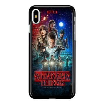 Stranger Things Poster Netflix iPhone X Case