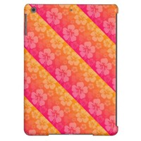 Tropical Floral Sunset iPad Air cases from Zazzle.com