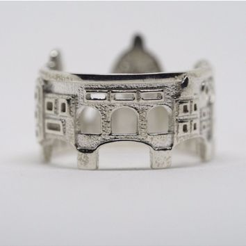 Florence Cityscape Statement Ring