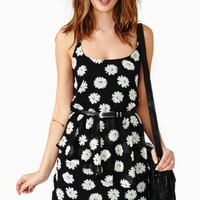 Reverse Lazy Daisy Peplum Dress