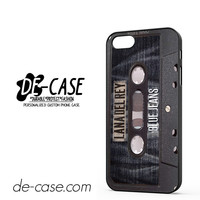 Lana Del Rey Blue Jeans Tape DEAL-6312 Apple Phonecase Cover For Iphone 5 / Iphone 5S