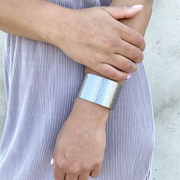 Medal Of Honor Silver Cuff Bracelet