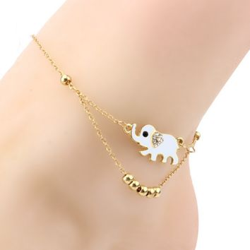 ankle golden product silver anklet women jewelry chain bracelet arrow hot souvenir unique bohemia foot bracelets fast nice