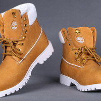 Timberland men's shoes for women's shoes timberland shoes high help lapel and wool rhubarb boots outdoor climbing shoes