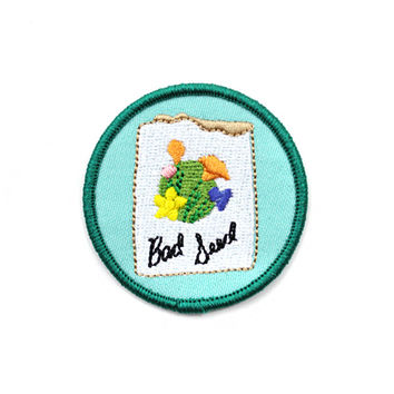 Bad Seed Merit Badge Patch