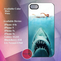 jaws case for iPhone 4/4s,iPhone5, iPhone 5s, iPhone 5c, galaxy s3,s4, LG Nexus4 E960, BlackBerry Z10
