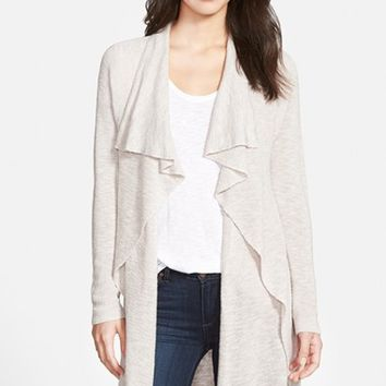Women's NIC+ZOE 'Great Lengths' Drape Front Cardigan,
