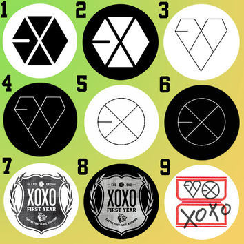 EXO XOXO, Wolf 88, Growl, Boy Who Cried Wolf, & Miracles In December Bottle Cap Necklace KPOP (27 Styles)